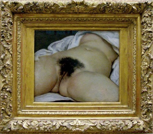 L'origine du monde - Gustave Courbet